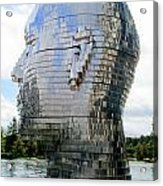 Metalmorphosis Right Side Acrylic Print by Randall Weidner