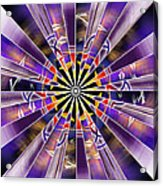 Metatron Storm Acrylic Print
