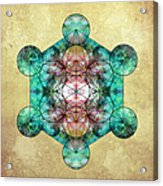 Metatron's Cube Acrylic Print