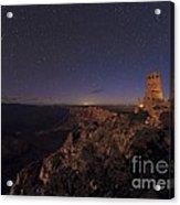 Meteor Over Grand Canyon, Usa Acrylic Print