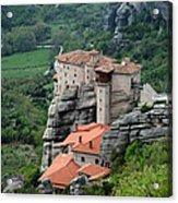 Meteora Monasteries Acrylic Print