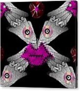 Meteoroid Creature  Coming From Comets And Androids Pop Art Acrylic Print by Pepita Selles