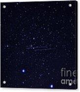 Meteors And Stars Acrylic Print