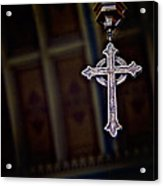 Methodist Jewelry Acrylic Print