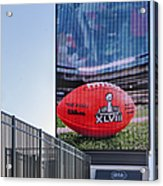 Metlife Stadium Box Office Acrylic Print