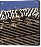 Metlife Stadium Acrylic Print