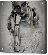 Metropolis Acrylic Print by Bob Orsillo