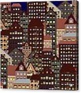 Metropolis Seven Acrylic Print