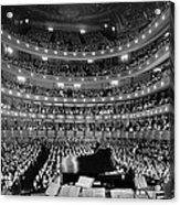 Metropolitan Opera House 1937 Acrylic Print