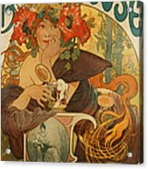 Meuse Beer Acrylic Print