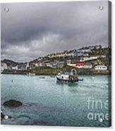 Mevagissy Cornwall Acrylic Print