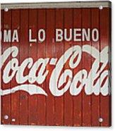 Mexican Coke Acrylic Print