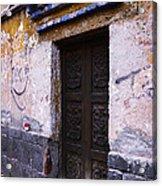 Mexican Door 34 Acrylic Print