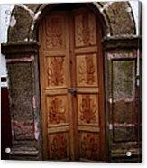 Mexican Door 56 Acrylic Print