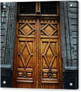 Mexican Door 68 Acrylic Print