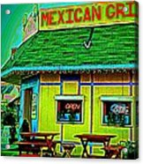 Mexican Grill Acrylic Print