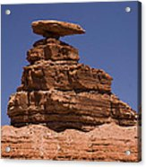 Mexican Hat Rock Acrylic Print