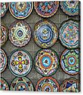 Mexican Plates Acrylic Print