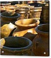 Mexican Pots Iv Acrylic Print