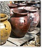 Mexican Pots V Acrylic Print