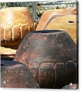 Mexican Pots Vi Acrylic Print