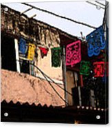 Mexican Street Acrylic Print