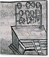 Mexico - Skull Rack Acrylic Print