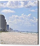 Mexico Beach Coastline Acrylic Print