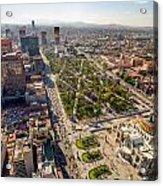 Mexico City Aerial View Acrylic Print by Jess Kraft