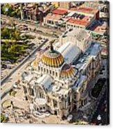 Mexico City Fine Arts Museum Acrylic Print by Jess Kraft
