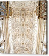 Mezquita Cathedral Ceiling In Cordoba Acrylic Print
