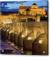 Mezquita Cathedral In Cordoba Acrylic Print