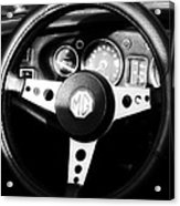 Mg Dashboard Acrylic Print