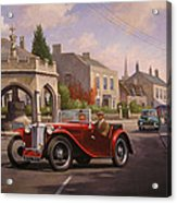 Mg Tc Sports Car Acrylic Print
