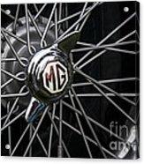 Mg Wheel Acrylic Print