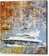 Mgl - Gold Mediterrane 05 Acrylic Print