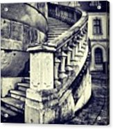 #mgmarts #architecture #castle #steps Acrylic Print