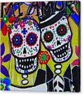 Mi Amor Dia De Los Muertos Wedding Acrylic Print