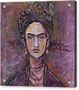Mi Vida Mi Frida Acrylic Print