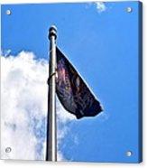 Mia/pow Flag Acrylic Print