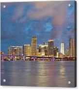 Miami - The Magic City Acrylic Print