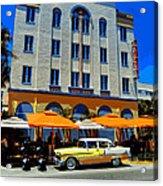 Miami 041 Acrylic Print by Lance Vaughn