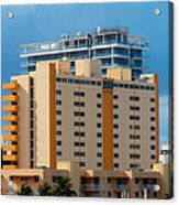 Miami Apartments Acrylic Print