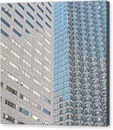 Miami Architecture Detail 2 Acrylic Print
