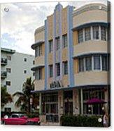 Miami Art Deco Acrylic Print