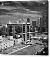 Miami Beach-0152bw Acrylic Print