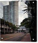 Miami Beach-0166 Acrylic Print