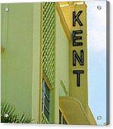 Miami Beach - Art Deco 10 Acrylic Print