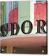 Miami Beach - Art Deco 11 Acrylic Print