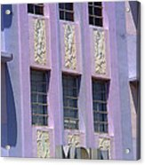 Miami Beach - Art Deco 12 Acrylic Print